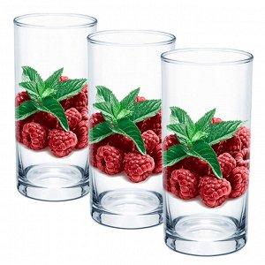 Набор 3 стакана (Малина) ДСГ424020376