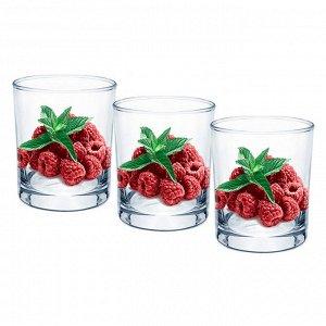 Набор 3 стакана (Малина) ДСГ424030376