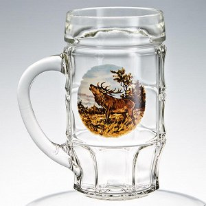 "Кружка для пива 500 мл 1030-Д ""Охота"""