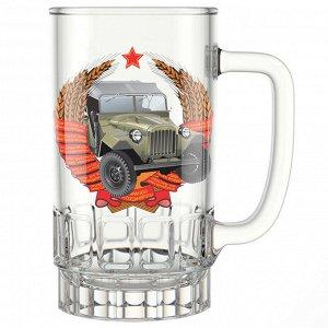 "Кружка для пива 450 мл 1040-Д ""Машины ретро"""