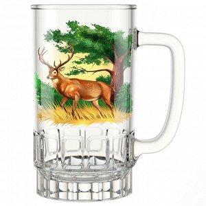 "Кружка для пива 450 мл 1040-Д ""Охота"""