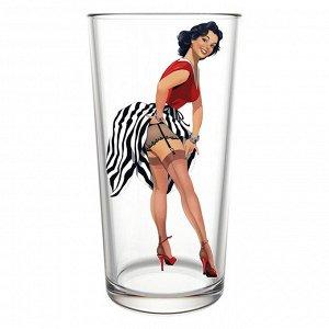 Набор стаканов 6штук 280мл 148-Д Pin-up girls
