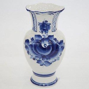 Ваза 21см для цветов Идиллия (гжельский фарфор) 993051801
