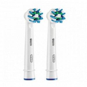 Орал-Би Насадки Для Электрических Зубных Щеток Crossaction Eb50-2 №2