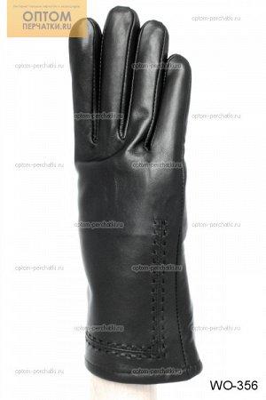 Перчатки женские лайковые на меху