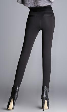Теплые штаны черные