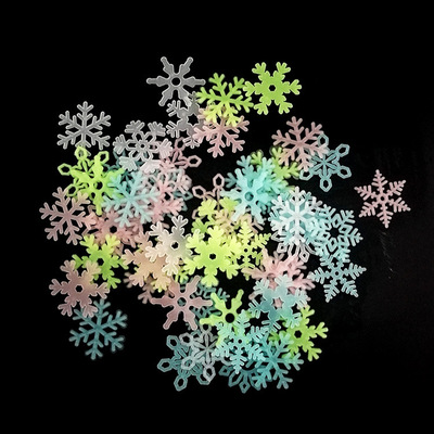 💫Новый 2021 год! Много подарков и декора!💫 — флоуресцентные снежинки, звезды — Все для Нового года