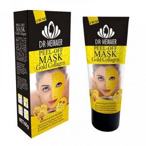 Тайская Маска-пленка для кожи лица Y W F Peel-off mask Gold Collagen Whitening Anti-Wrinkle 60g