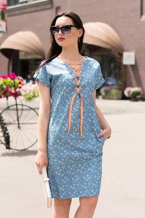Платье с цветочным принтом Lace_2