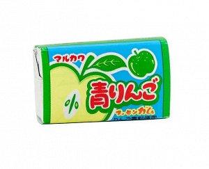 MARUKAWA жевательная резинка со вкусом зеленого яблока