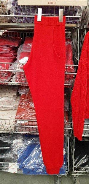 Трикотажные брюки Kontatto (чёрные) (костюм за 5000)