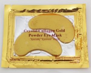 Маска для век GOLD CRYSTAL Belov Коллаген + Золото (дольки)