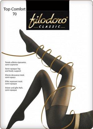 Filodoro Classic / Колготки Top Comfort 70 (моделирующие шортики, матовые)