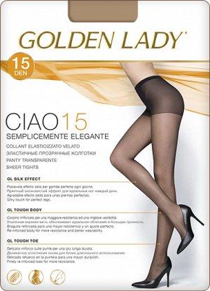 Тонкие эластичные колготки Golden Lady Ciao 15