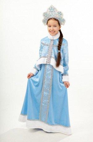 Новогодний костюм Снегурочка (134- 140).