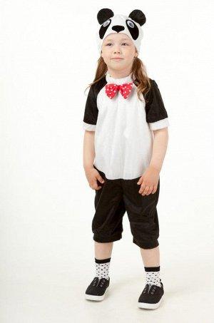 """Карнавальный костюм """"Панда"""" ( комбинезон, шапка) размер 104-52"""