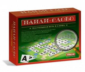 "STELLAR Настольная игра №18  ""Найди слово""  (""Логос"")"