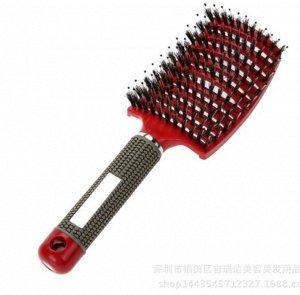 Расческа с добавлением щетины для мокрых волос