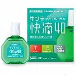 Капли для глаз Sante kaiteki Япония 40+