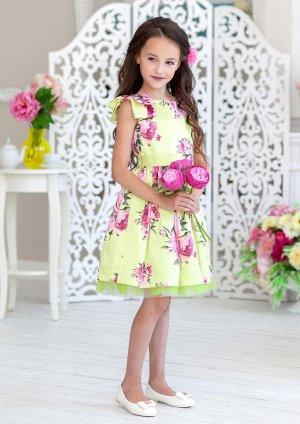 Красивое платье на выпускной в садик