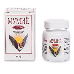Мумиё алтайское 100 % 50 гр