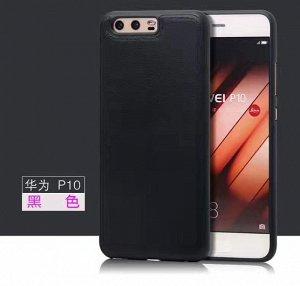 Чехол силикон иск кожа Huawei