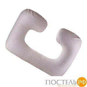 Подушка для беременных и кормления С (Ап17кор45, 110х80, Холлофайбер, Разноцветный, Хлопок, Холлофайбер)