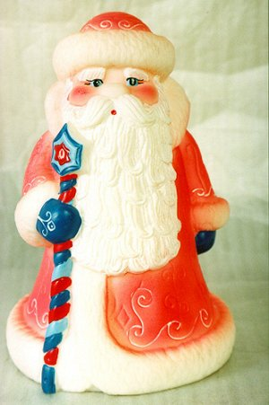Дед мороз б/р, пакет ПВХ, 21 см