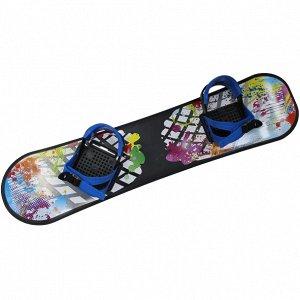 Сноуборд пластиковый с жесткими креплениями 2158-00 СД01.00 (1/6)