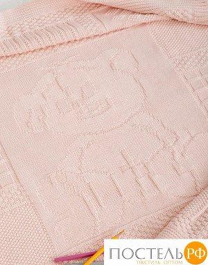Плед детский 'Imperio 16', р-р: 75х100см, цвет: розовый