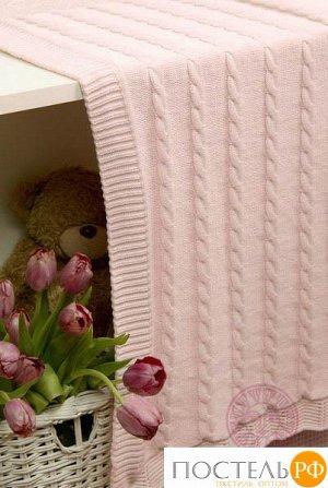 Плед детский 'Imperio 93', р-р: 75х100см, цвет: розовый