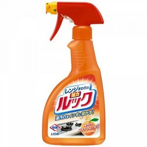 """14206 """"Lion"""" Жидкость для газовых и электрических плит чистящая """"Чистый дом"""" (с пульверизатором) 400 мл"""