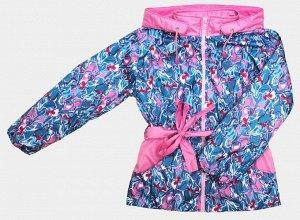 Куртка Куртка для девочек на флисе (FITSYSTEM Style Design F / DEWSPO PU MILKY подкладка FLEECE 180, цвет:морская волна, подойдут бр. 7067)