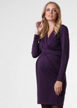 """Платье """"Жасмин"""" для беременных и кормящих; цвет: бургунди (aw18)"""