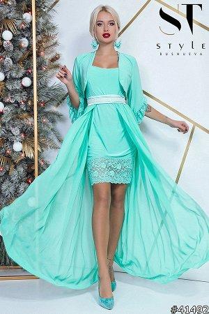 Платье-двойка 41492