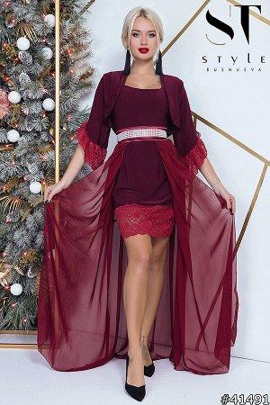 Платье-двойка 41491