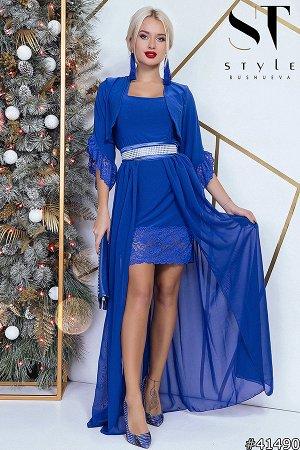Платье-двойка 41490