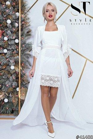 Платье-двойка 41488