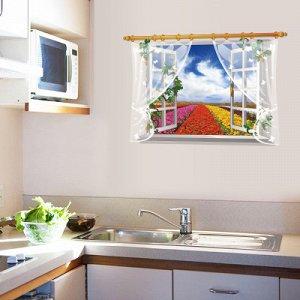 Интерьерная наклейка окно