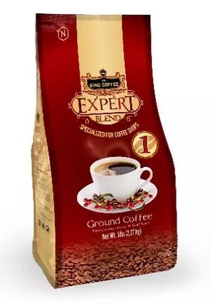 Кофе молотый Кинг Эксперт Блэнд 1 100гр