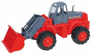 Трактор погрузчик (в сеточке)  8886 (1/4)