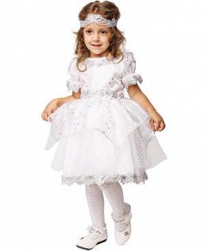 Прекрасный карнавальный праздничный костюм девочка - Снежинка Новый в фирменной упаковке