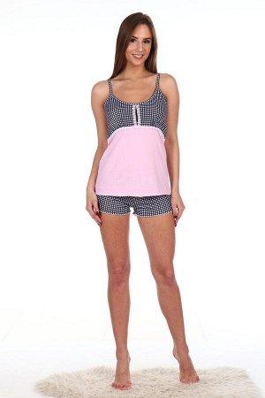 Пижама женская, розовый