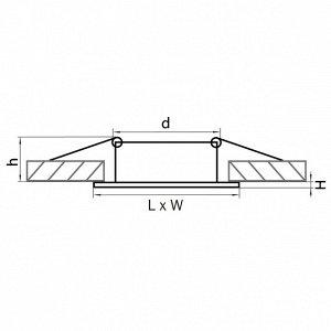 Светильник точечный Lightstar Lega Qua Adj Mr16 4