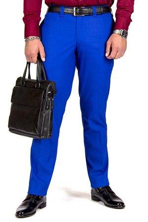 Костюм СКИДКА! СТОИЛ 4182 Р! Состав хлопок-35%, лен-35%, вискоза-30% Модель костюм приталенный Цвет синий Фактура узор