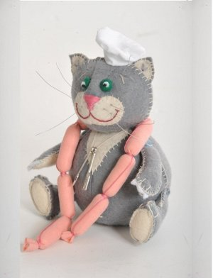 Набор для изготовления текстильной куклы - Кот Обжора