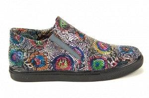 Яркие необычные д/с туфли
