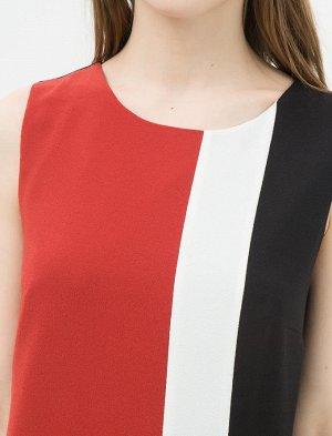 Платье %97 Polyester, %3 Elastan