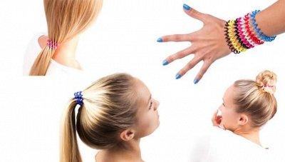 Всё для волос. Косметика, фены, расчески и мн. другое!  — Резинки DEWAL — Косметические аксессуары