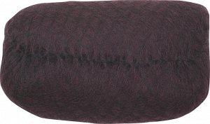 Валик для прически DEWAL, искусственный .волос + сетка, темно-коричневый